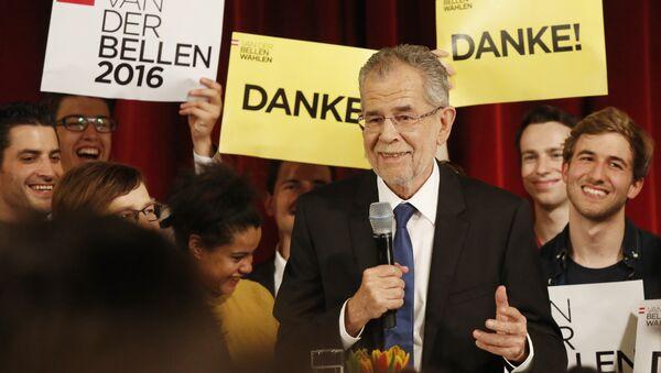 Novi predsednik Austrije Aleksandar van der Belen - Sputnik Srbija