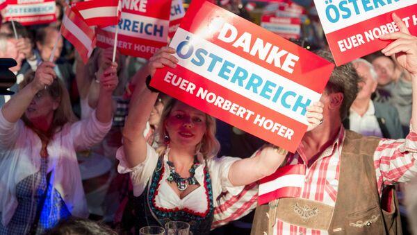 Izbori u Austriji 2016. godine - Sputnik Srbija