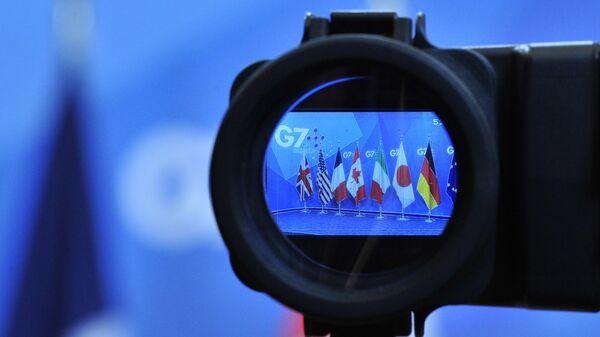 Samit G7 – zastave - Sputnik Srbija