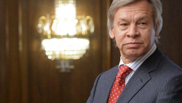 Председник Комитета Државне думе за међународне послове Алексеј Пушков - Sputnik Србија