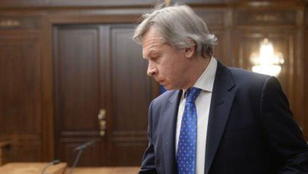 Predsednik Komiteta Državne dume za međunarodne poslove Aleksej Puškov - Sputnik Srbija