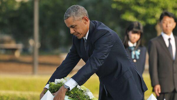 Barak Obama u Hirošimi - Sputnik Srbija
