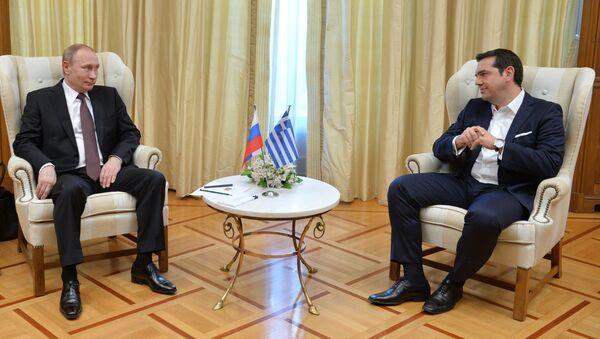 Посета председника Путина у Грчкој - Sputnik Србија