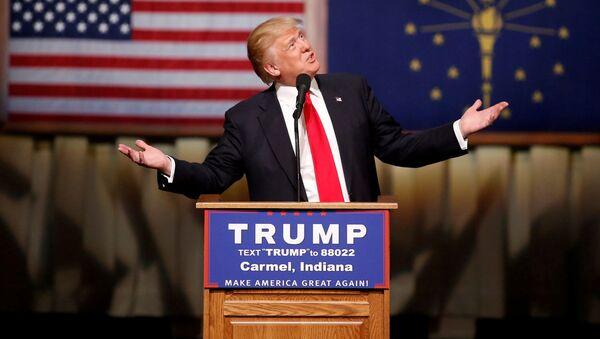 Кандидат Републиканске странке за председника САД Доналд Трамп - Sputnik Србија