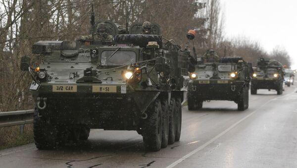 Конвој америчке војске - Sputnik Србија