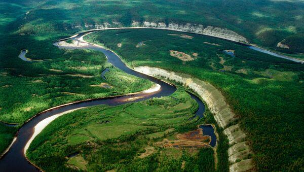 Reka Buotoma u Jakutiji, na Dalekom istoku Rusije, pejzaž - Sputnik Srbija