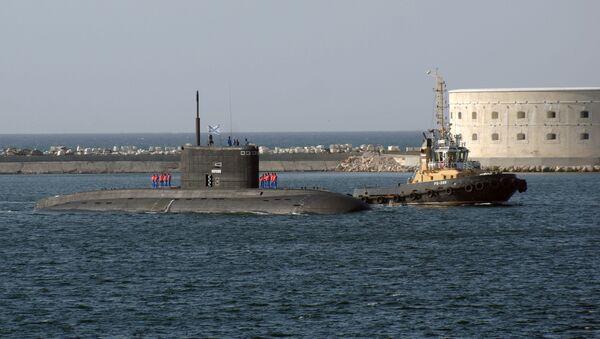Долазак подморнице Црноморска флота Новоросијск у луци Севастопољу - Sputnik Србија