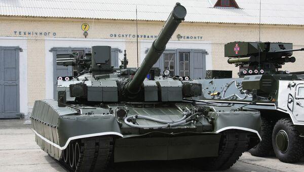 Ukrajinski tenk T-84U Oplot - Sputnik Srbija