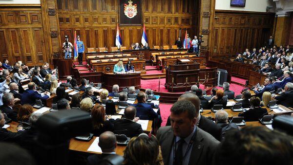 Konstitutivna sednica Skupštine Srbije - Sputnik Srbija