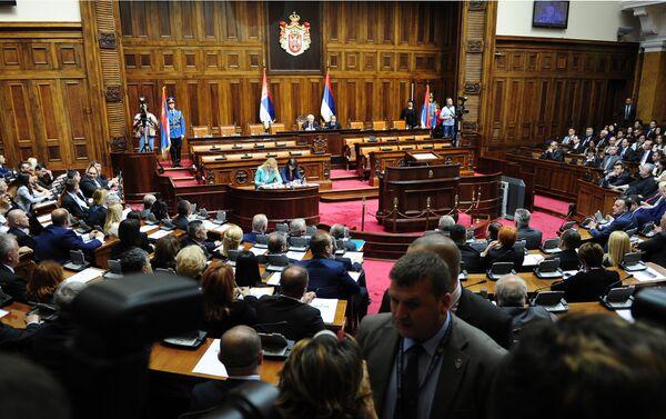 Конститутивна седница Скупштине Србије - Sputnik Србија