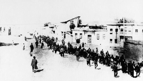 Krvavi marš bez povratka jermenskog stanovništva u Turskoj, u aprilu 1915. godine - Sputnik Srbija