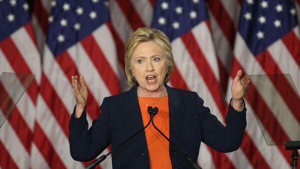 Кандидаткиња Демократске странке за председника САД Хилари Клинтон - Sputnik Србија