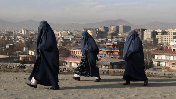 Авганистанке на улицама Кабула, престонице Авганистана - Sputnik Србија