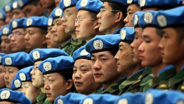 Kineski mirotvorci spremaju se da krenu na misiju UN u Sudan - Sputnik Srbija