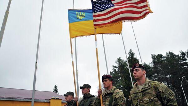 Američki instruktori stigli u Ukrajinu - Sputnik Srbija