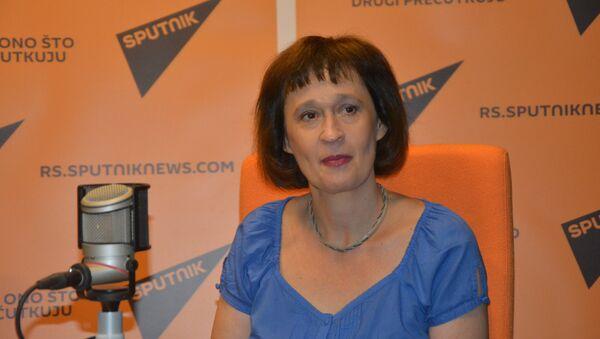 Tanja Popović, profesorka na Katedri za opštu književnost i teoriju književnosti, Filološki fakultet u Beogradu - Sputnik Srbija