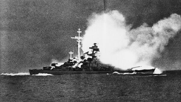 Потапање немачког бојног брода Бизмарк. - Sputnik Србија