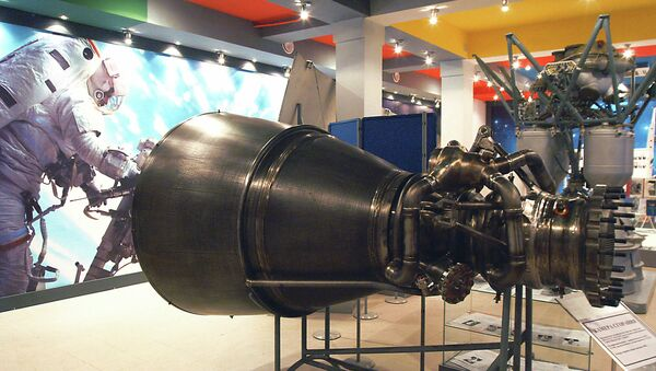 Ракетни мотор РД-180 - Sputnik Србија