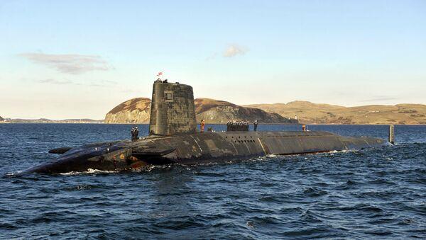Nuklearna podmornica Trozubac (Trident) patrolira duž zapadne obale Škotske - Sputnik Srbija