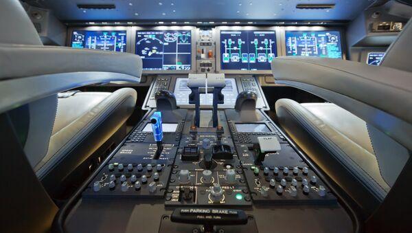 The MC-21's cockpit. - Sputnik Srbija