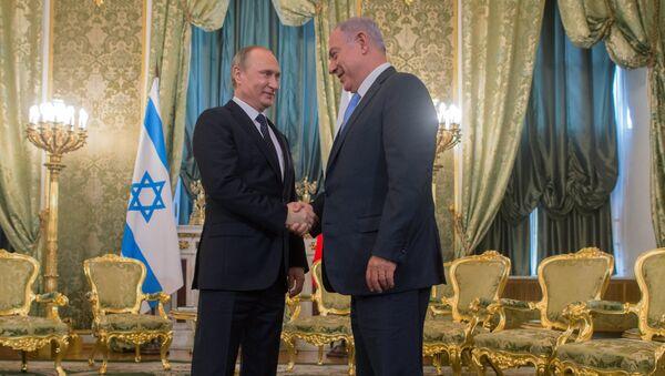 Председник Русије Владимир Путин и премијер Израела Бењамин Нетанјаху - Sputnik Србија