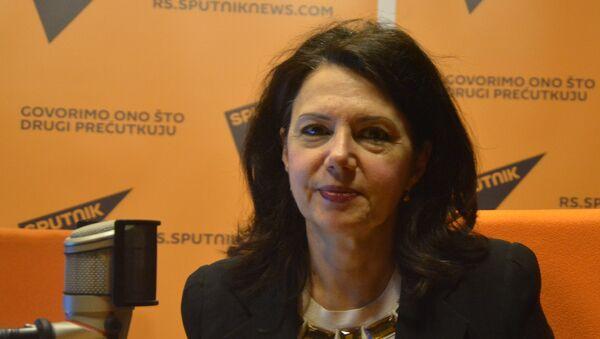 Predsednica DSS Sanda Rašković Ivić - Sputnik Srbija
