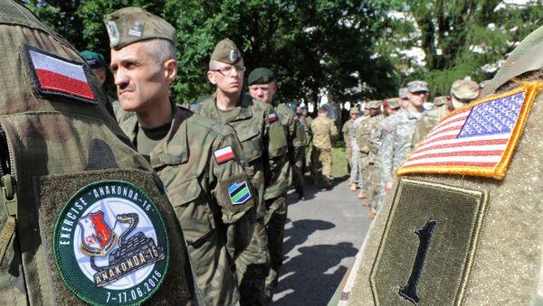 Пољски и амерички војници у НАТО вежби Анаконда у Пољској - Sputnik Србија