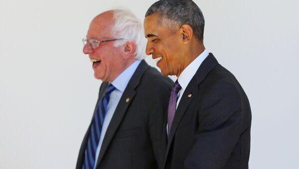 Barni Sanders i Barak Obama - Sputnik Srbija