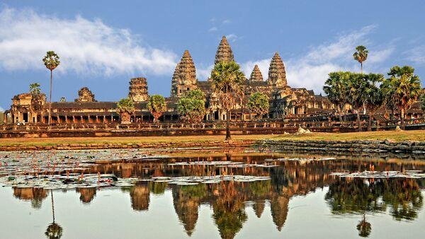 Ангкор Ват, џиновски комплекс храмова у Камбоџи - Sputnik Србија