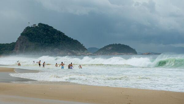 Plaža Kopakabana u Rio de Žaneiru - Sputnik Srbija