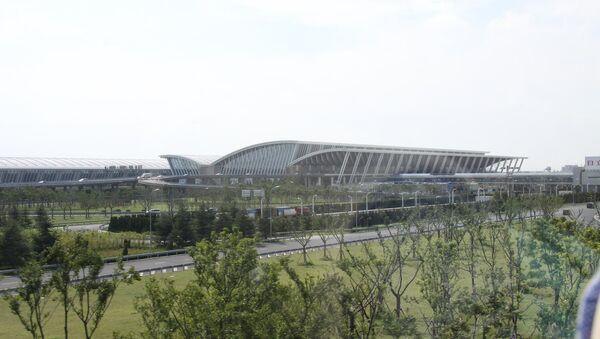Aerodrom u Šangaju - Sputnik Srbija