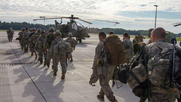 Američki bataljon u Letoniji - Sputnik Srbija