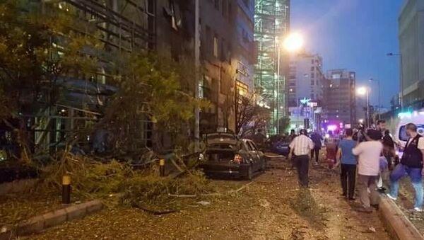 Eksplozija u Bejrutu. - Sputnik Srbija