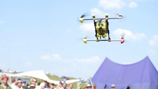 Spear-Armed Medieval Reenactors Hunt Drones - Sputnik Srbija
