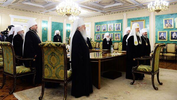 Hitna sednica sinoda RPC - Sputnik Srbija