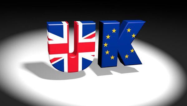 Велика Британија и ЕУ илустрација - Sputnik Србија
