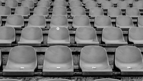 Prazne tribine fudbalskog stadiona - Sputnik Srbija