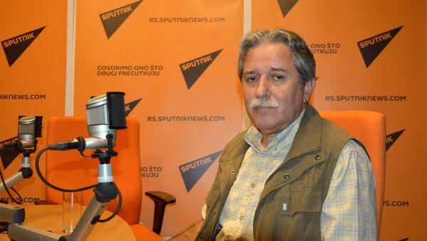 Slobodan Samardžić, doktor političkih nauka i redovni profesor na Fakultetu političkih nauka u Beogradu. - Sputnik Srbija