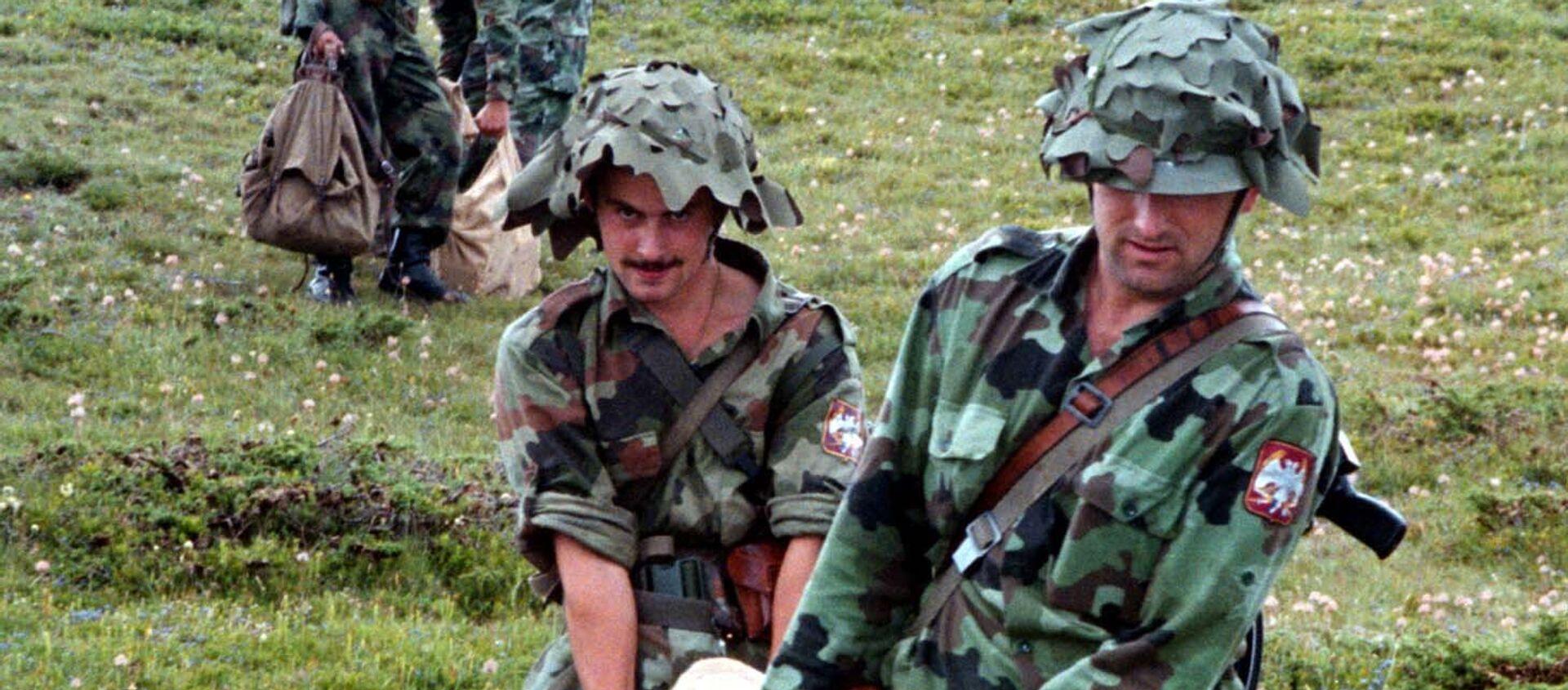 Југословенска армија, Кошаре 1998. - Sputnik Србија, 1920, 09.04.2021