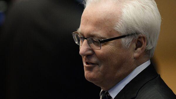 Виталиј Чуркин - стални представник представник Русије у УН - Sputnik Србија