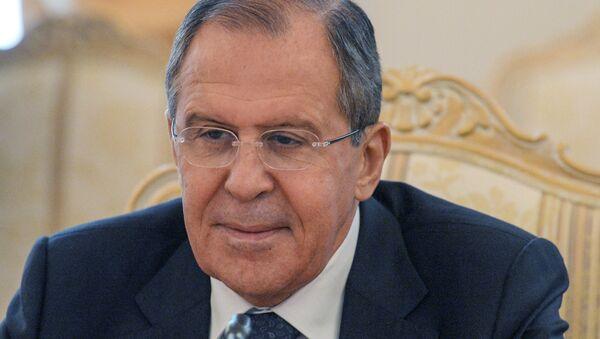 Sastanak ministra spoljnih poslova Rusije Sergeja Lavrova sa gajanskim kolegom K. Grinidžem - Sputnik Srbija