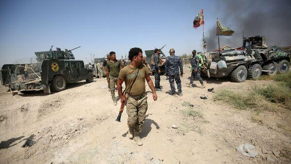 Ирачке снаге боре се против ДАЕШ-а у Фалуџи, у Ираку - Sputnik Србија