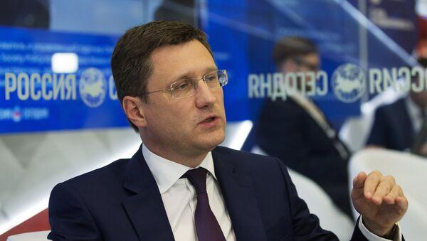 Ministar energetike RF Aleksandar Novak na Peterburškom međunarodnom ekonomskom forumu - Sputnik Srbija