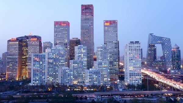 Поглед на пословни део Пекинга, Кина - Sputnik Србија