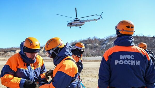 MČS u akciji spasavanja - Sputnik Srbija
