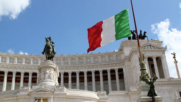 Italijanska zastva u Rimu - Sputnik Srbija