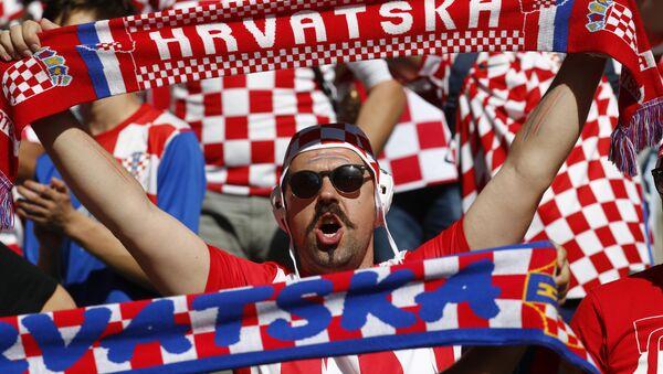 Navijači Hrvatske - Sputnik Srbija