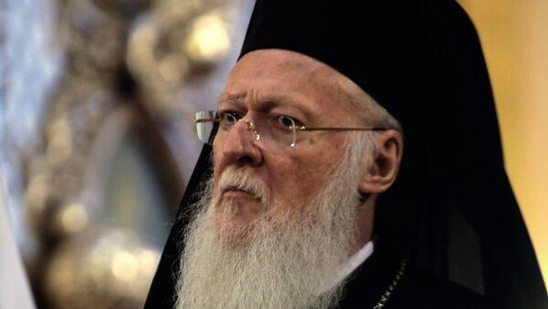 Васељенски патријарх Вартоломеј - Sputnik Србија