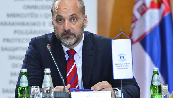 Zaštitnik građana Saša Janković - Sputnik Srbija