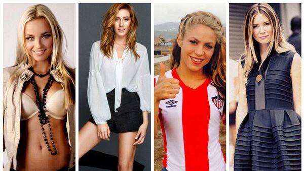 Klarka Necid, Sinem Kobal, Shakira, Mirela Foric - Sputnik Srbija